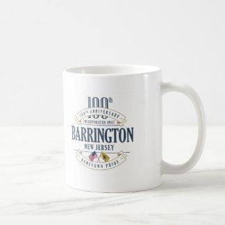 Barrington, caneca do aniversário de New-jersey