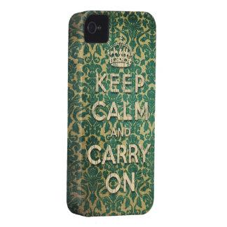 barroco mantenha a calma e continue capinhas iPhone 4