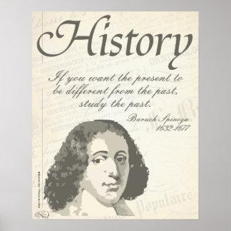Baruch Spinoza [história] Pôster