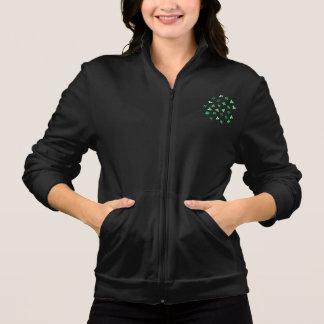 Basculador do fecho de correr das mulheres das jaqueta