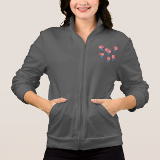 Basculador do fecho de correr das mulheres dos jaqueta