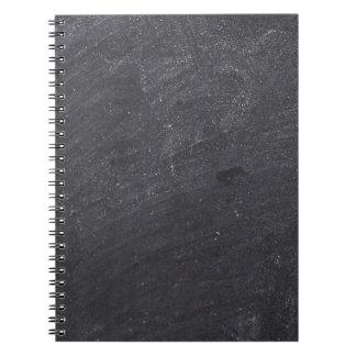 Base customizável do quadro caderno espiral