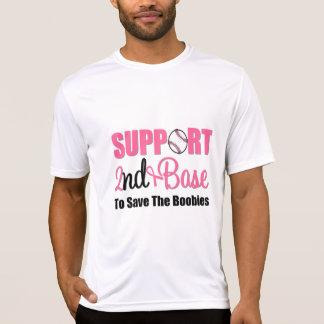 Base do apoio ao cancer de mama ?a t-shirts