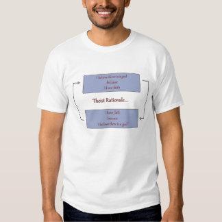 Base racional do Theist T-shirt