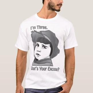 Base racional má do menino camiseta