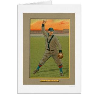 Basebol 1911 dos piratas de Owen Wilson Cartão Comemorativo