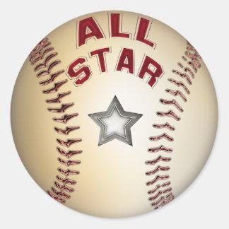 Basebol All Star Adesivo