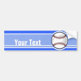 Basebol; Azul Adesivos