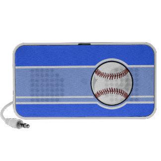 Basebol Azul Caixinhas De Som De Viagem