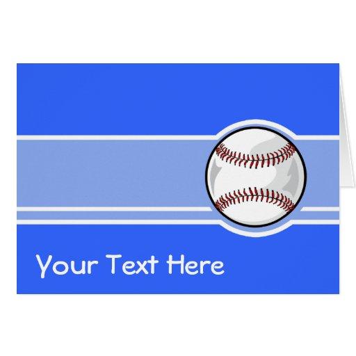 Basebol; Azul Cartões