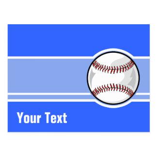 Basebol Azul Cartoes Postais