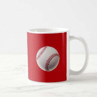 Basebol - basebol do modelo dos esportes no caneca de café