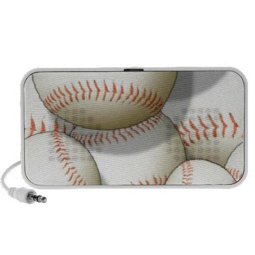 Basebol Caixinha De Som Para Notebook