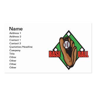 Basebol Cartão De Visita