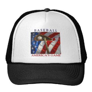 Basebol do passatempo de América, luva, bastão Boné