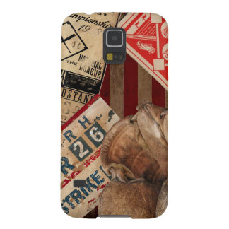 Basebol do vintage capa para galaxy s5