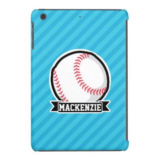 Basebol em listras de azul-céu capa para iPad mini retina