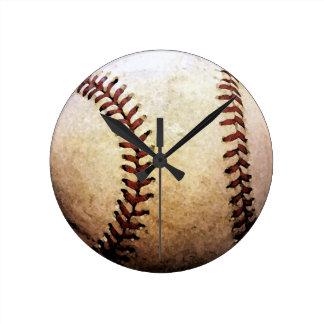 Basebol Relógio De Parede