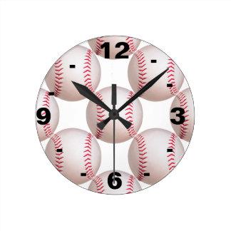 Basebol Relógios De Pendurar