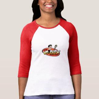 Basebol T do Podcast do MoShow das mulheres Camiseta