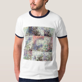 basica do camiseta, hombre do ribeteada-. bicolor camiseta