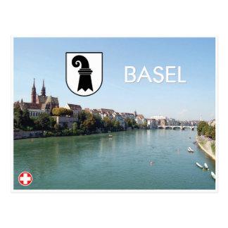 Basileia - cartão da suiça
