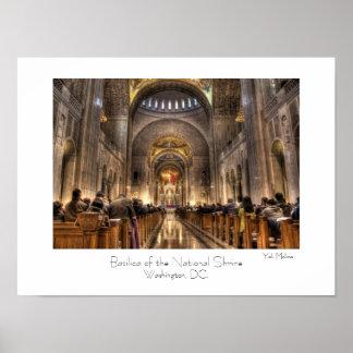 Basílica do santuário nacional poster