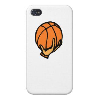 Basquetebol à disposição iPhone 4 capas