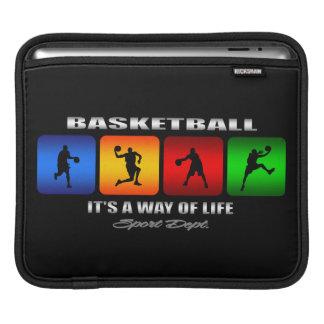 Basquetebol legal é um modo de vida sleeve para iPad