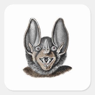 Bastão com orelhas grandes adesivo quadrado