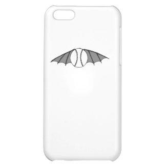Bastão de beisebol engraçado capas para iphone5C
