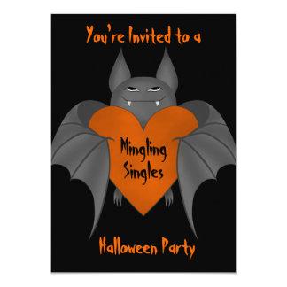 Bastão de vampiro amorous engraçado do Dia das Convite 12.7 X 17.78cm