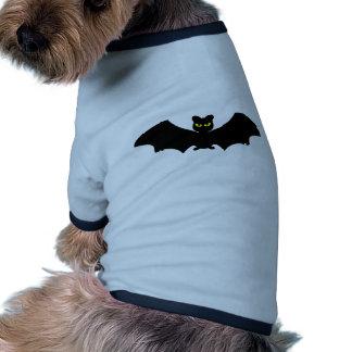 Bastão do Dia das Bruxas Camisa Ringer Para Cachorro