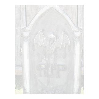 Bastão do RASGO da lápide do Dia das Bruxas Panfleto Personalizados