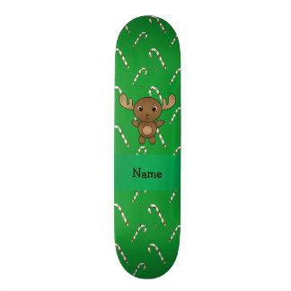 Bastões de doces conhecidos personalizados do verd skate