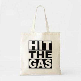 Bata o gás bolsa tote