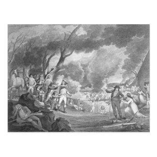 Batalha de Lexington Cartão Postal