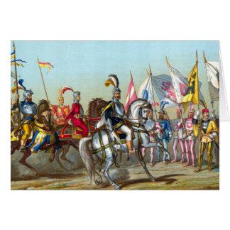 Batalha de Morat - cartão
