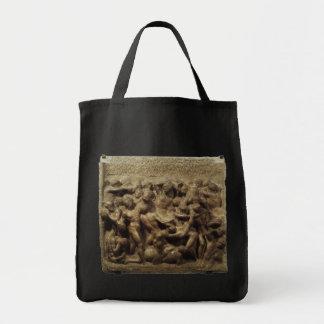 Batalha do Lapiths e centauros por Michelangelo Sacola Tote De Mercado