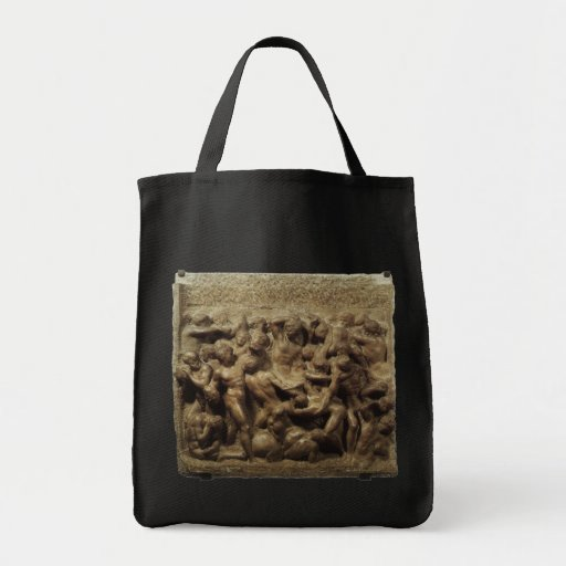 Batalha do Lapiths e centauros por Michelangelo Bolsas De Lona