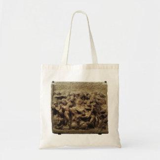 Batalha do Lapiths e centauros por Michelangelo Sacola Tote Budget