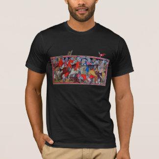Batalha medieval camiseta