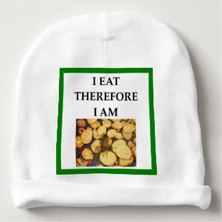 batatas fritas caseiras gorro para bebê