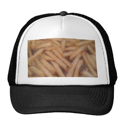 Batatas fritas deliciosas boné