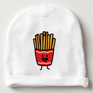 Batatas fritas felizes gorro para bebê
