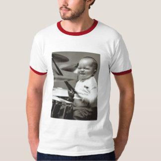 baterista baby2 tshirt
