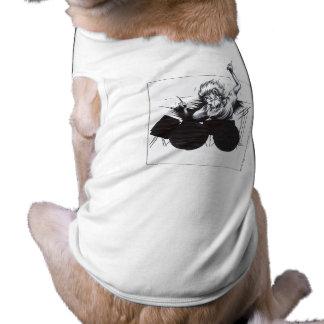 Baterista Camisa Sem Mangas Para Cachorro