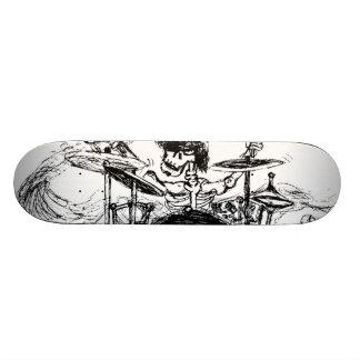 Baterista esqueletal shape de skate 18,7cm