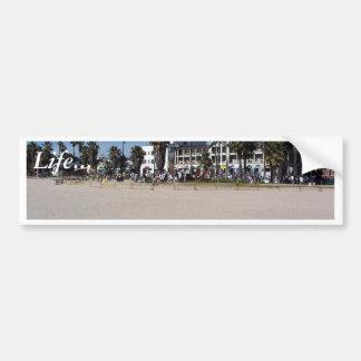 Bateristas da praia de Veneza Adesivo Para Carro