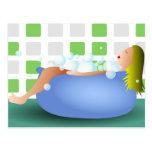 Bathtime Cartão Postal